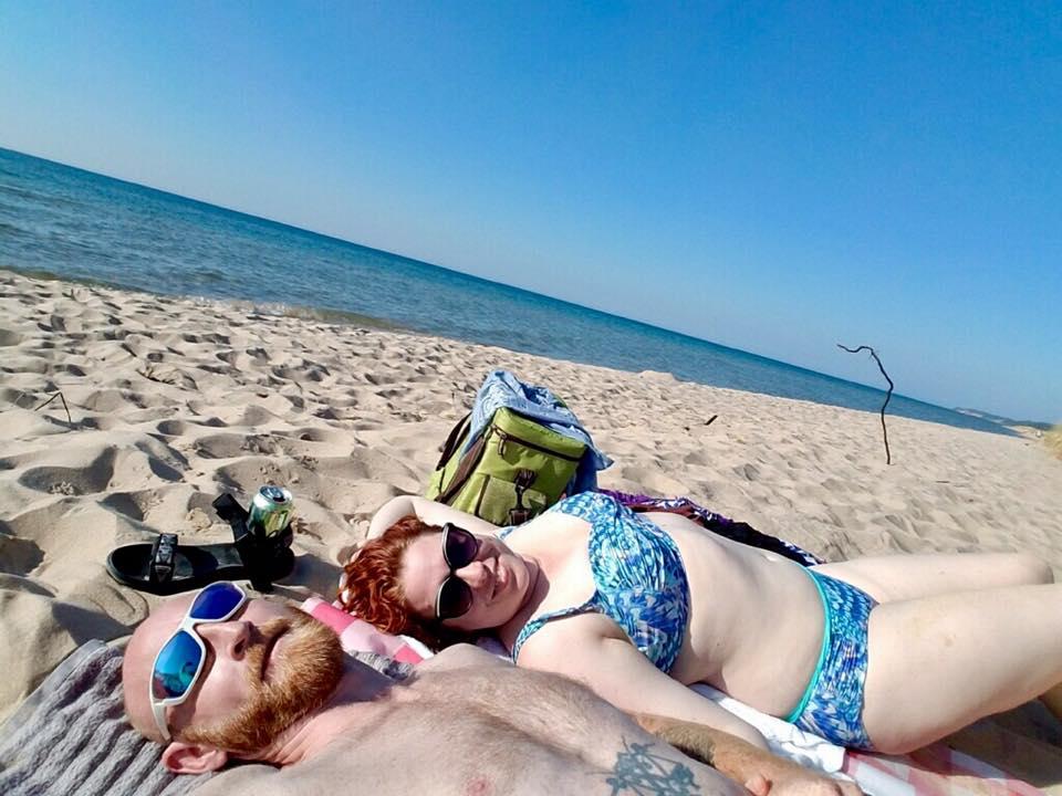 jessica at the beach